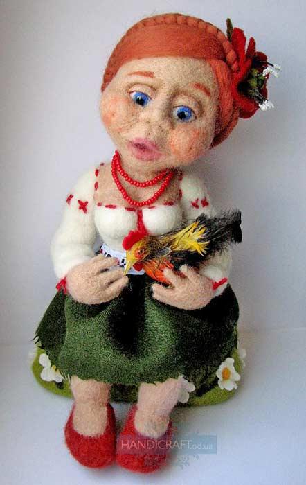 Куклы своими руками валяние мастер 137