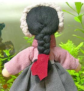 волосы из шерсти для валяния