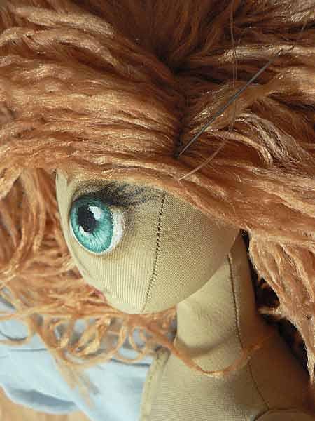Волосы для куклы