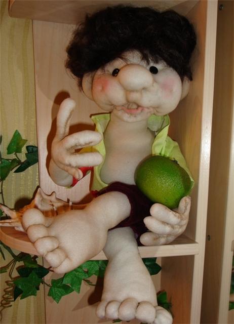 Первая кукла мастера