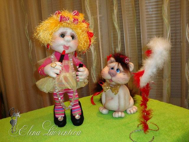 Куклы Своими Руками Попики Мк Елены Лаврентьевой 6